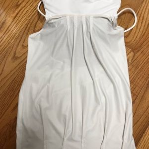 lululemon athletica Tops - Lululemon backless loose cream free fitting top.